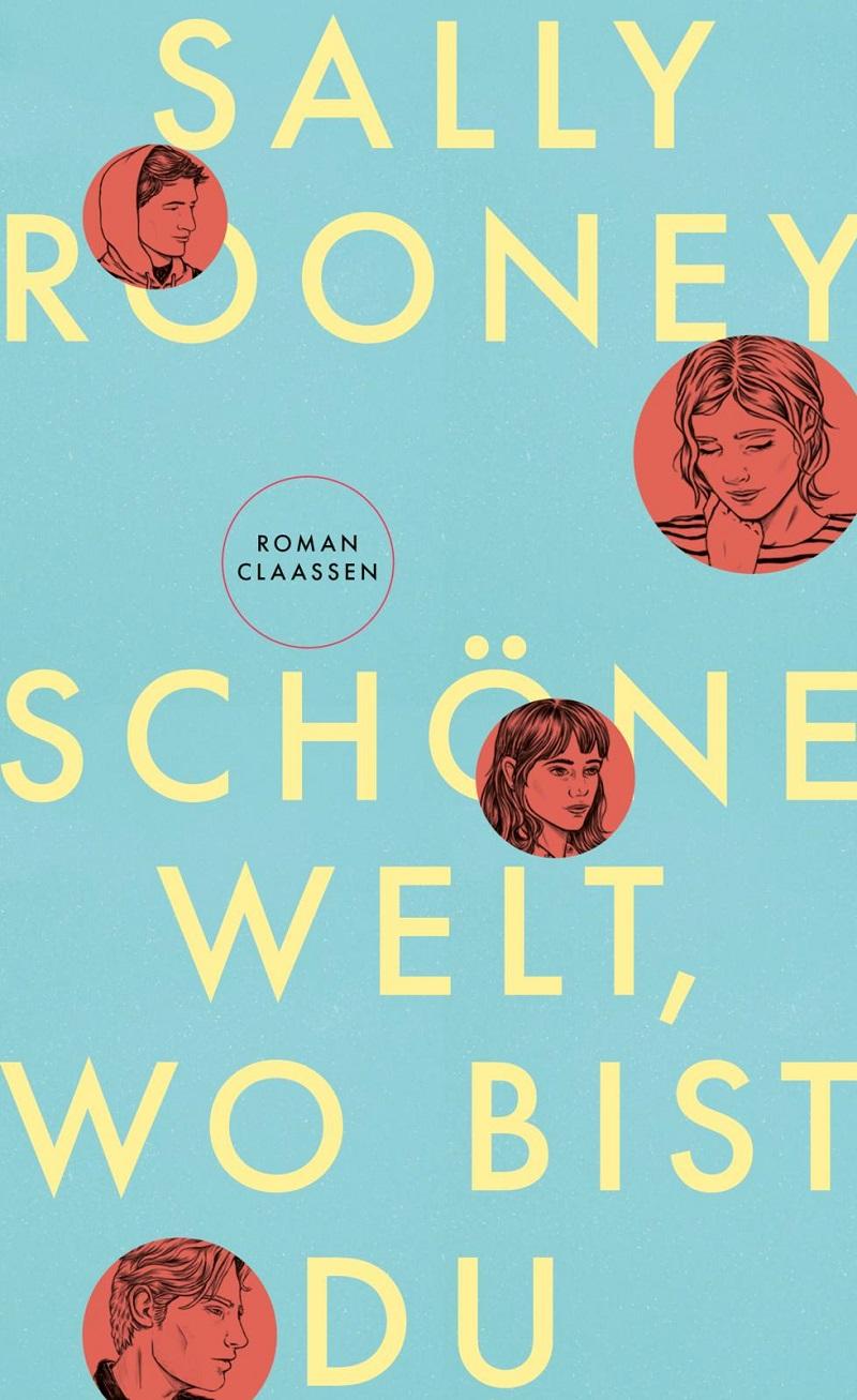 """Buchcover Sally Rooney """"Schöne Welt, wo bist du"""""""