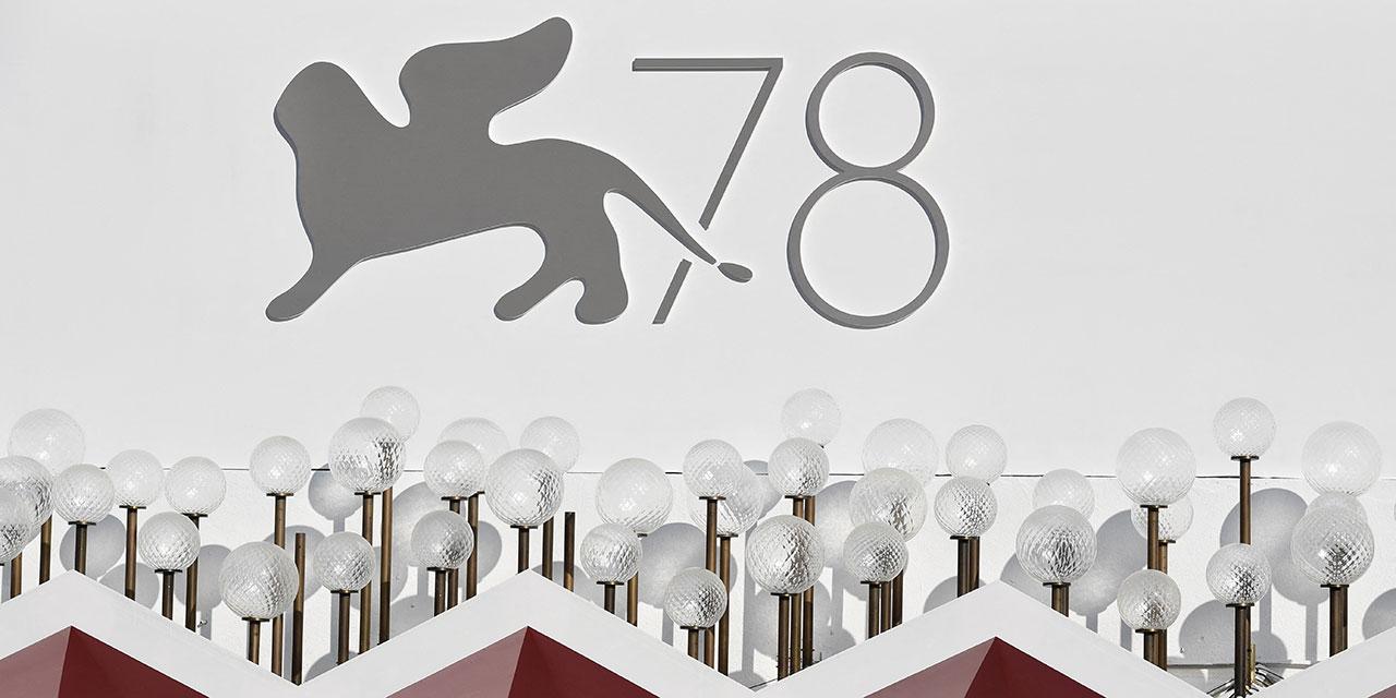 Festival-Logo der 78. Filmfestspiele von Venedig