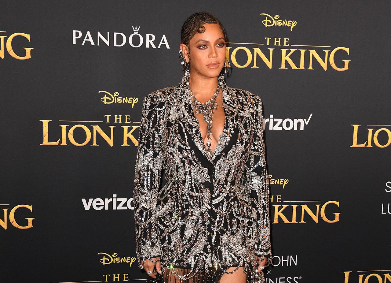 Beyonce bei der Weltpremiere von The Lion King
