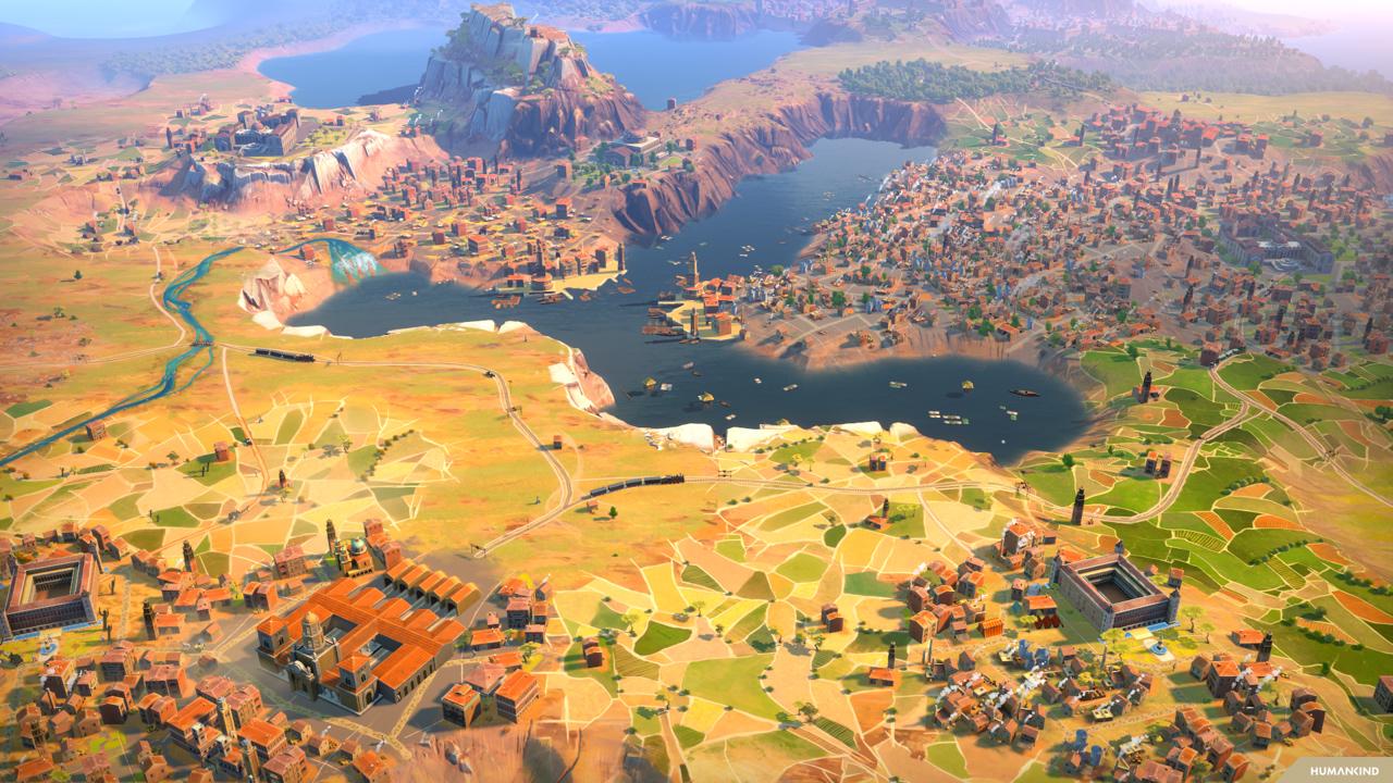 Screenshot des Spiels Humankind