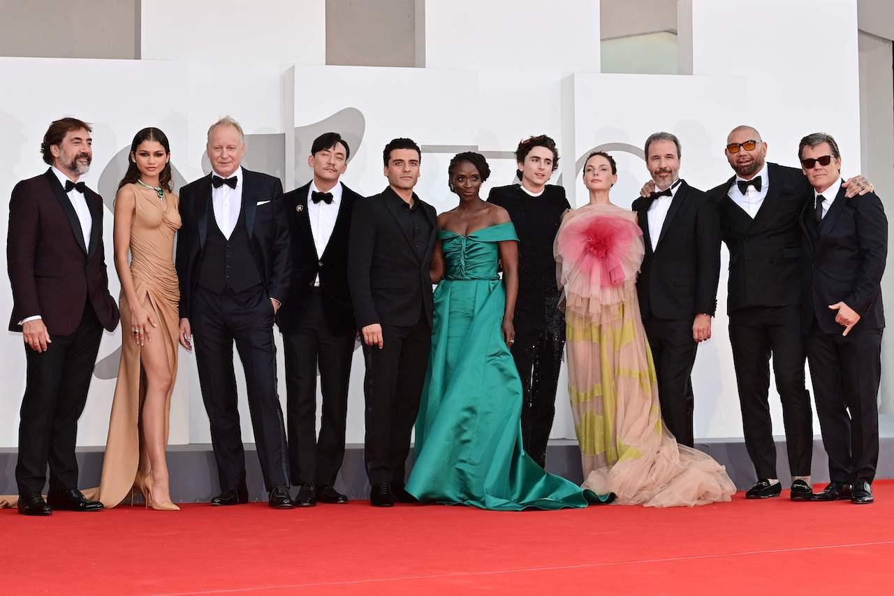 "Filmpremiere von ""Dune""  September 3, 2021 during the 78th Venice Film Festival at Venice Lido"