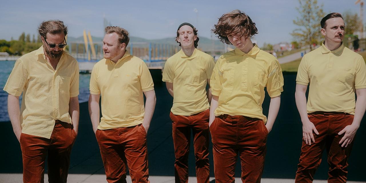 Die fünf Bandmitglieder von 5K HD