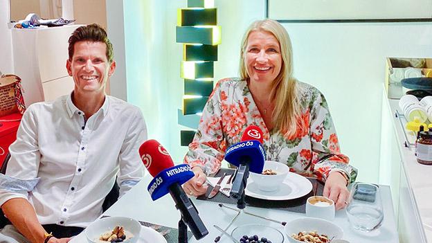 Robert Fritz und Claudia Stöckl