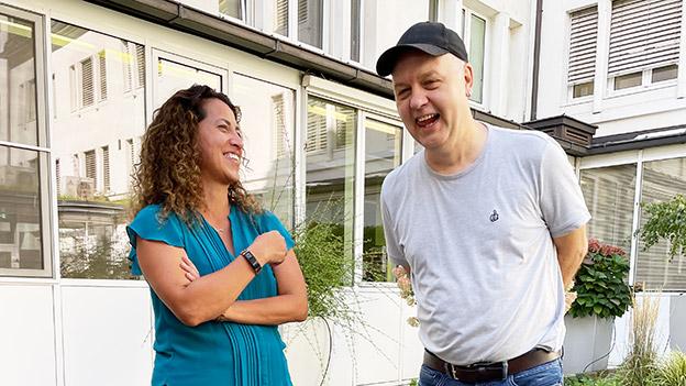 Nicole Rabenseifner und Harald Pöll