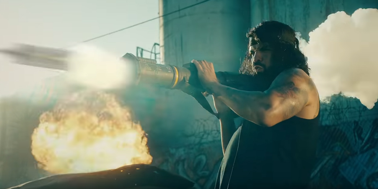 Drake als Rambo