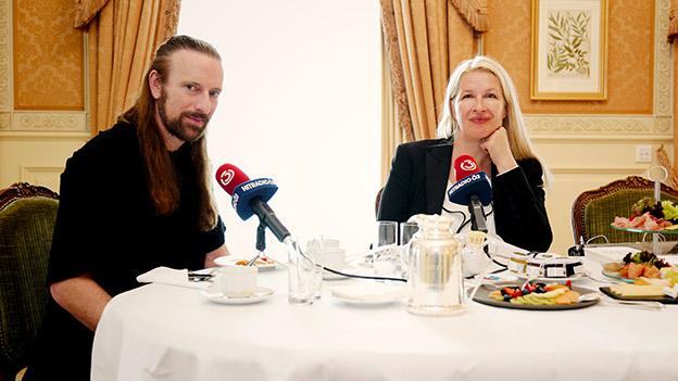 Anders Indset und Claudia Stöckl