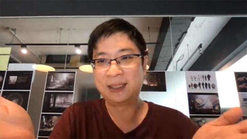 Chris Chiu während des FM4-Interviews