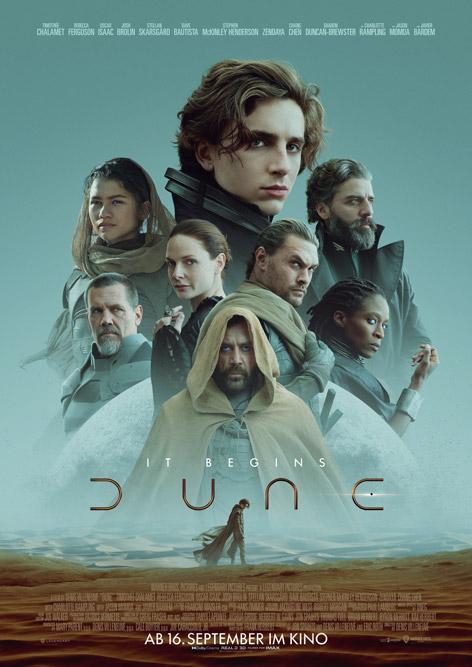 "Kinoplakat von ""Dune"""