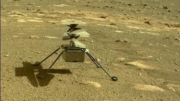 Mars-Hubschrauber Ingenuity