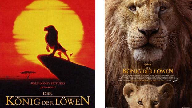 """Filmplakate von """"König der Löwen"""""""