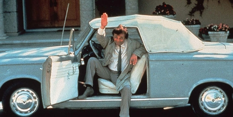 Peter Falk als Columbo