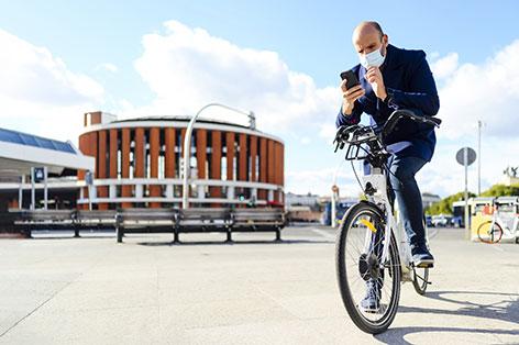 Fahrrad Handy