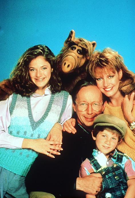 Familie Tanner und Alf