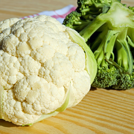 Brokkoli und Karfiol