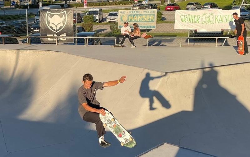 Skatepark Action in Brixlegg