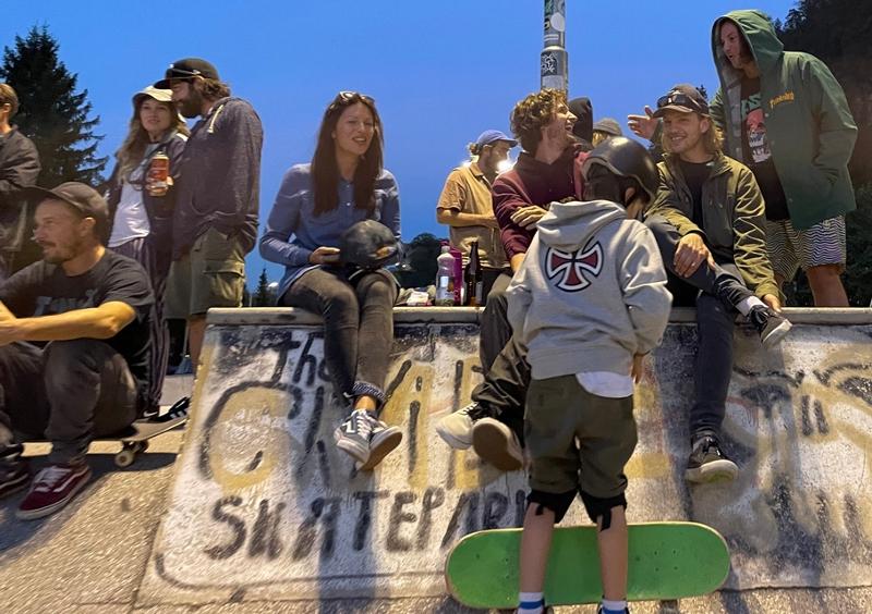 Private Session Gäste am Skatepark