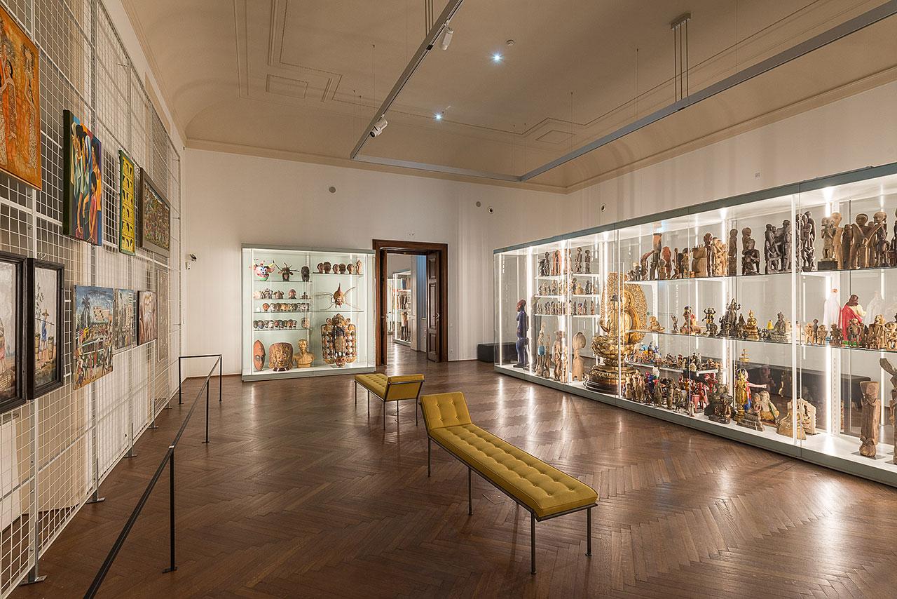 Schausammlung des Weltmuseums Wien