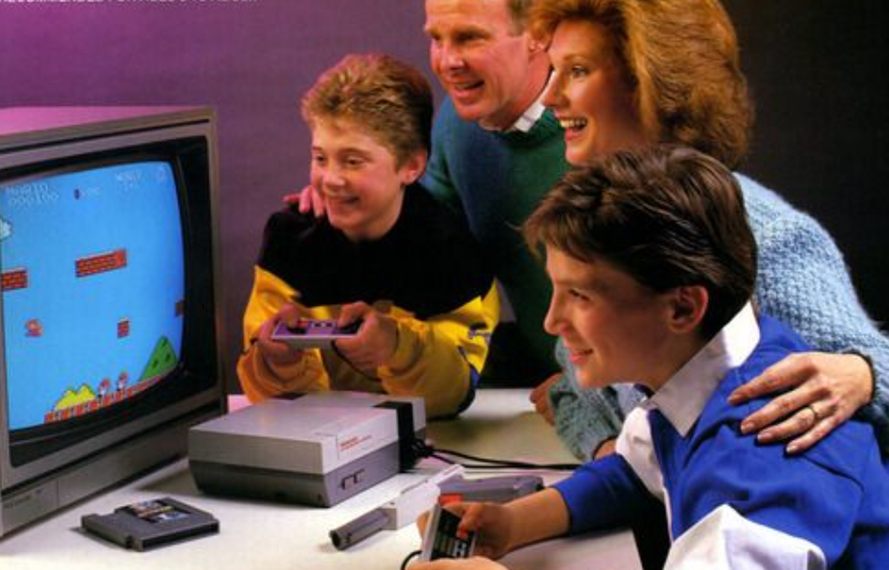 Family Gaming Ad