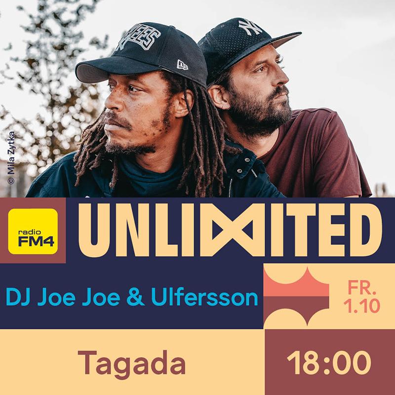 DJ Joe Joe & Ulfersson FM4 Unlimited Tag der DJs