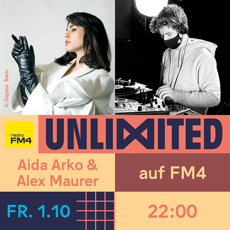 Aida Arko & Alex Maurer FM4 Unlimited Tag der DJs