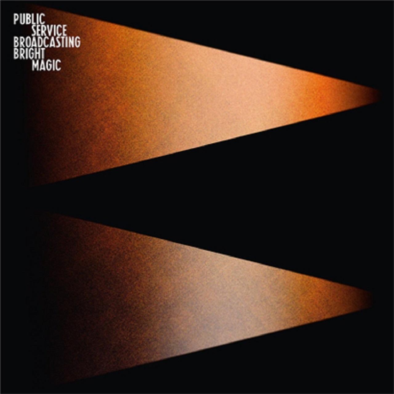 "Public Service Broadcasting Albumcover ""Bright Magic"""