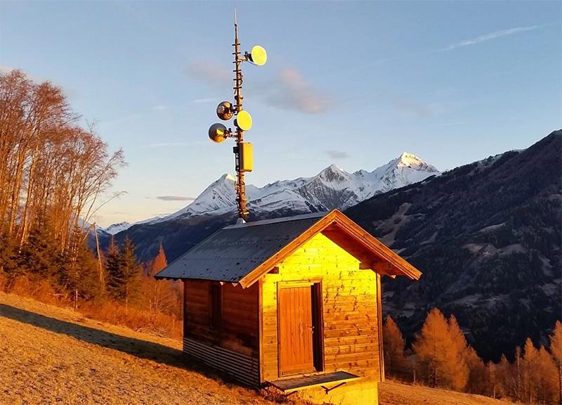 Richtfunkverbindung in Tirol