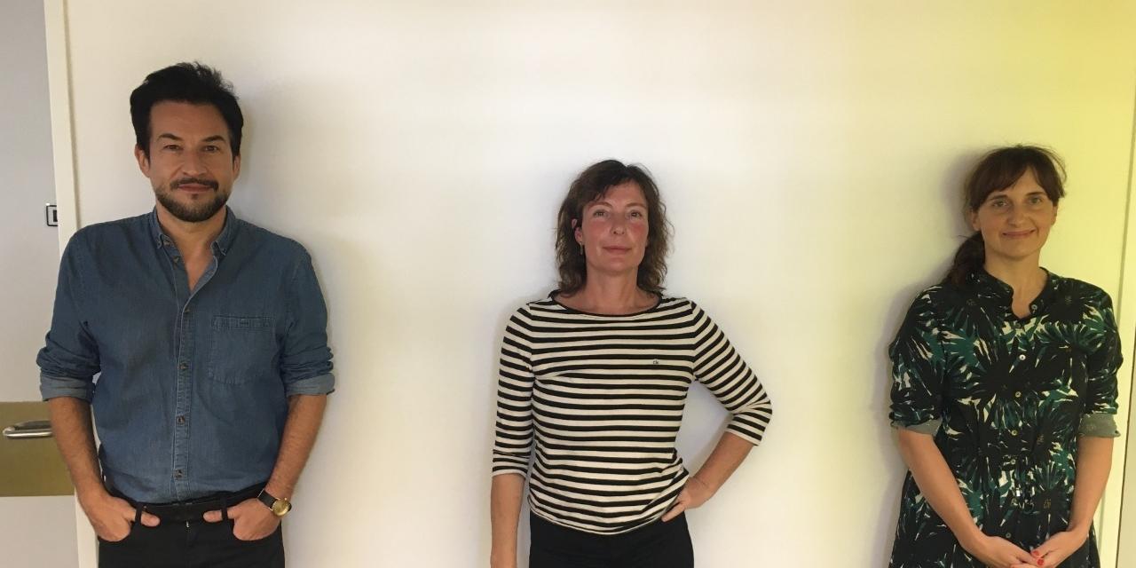 Christian Fuchs, Evi Romen und Pia Reiser