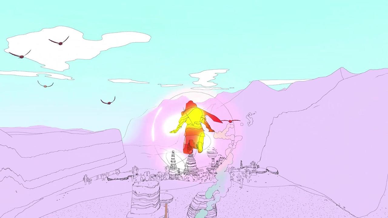 "Screenshot aus dem Game ""Sable"""