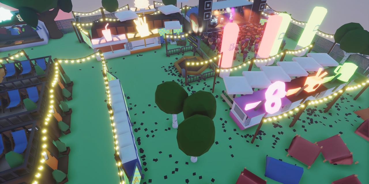 Screenshot des Spiels Festival Tycoon