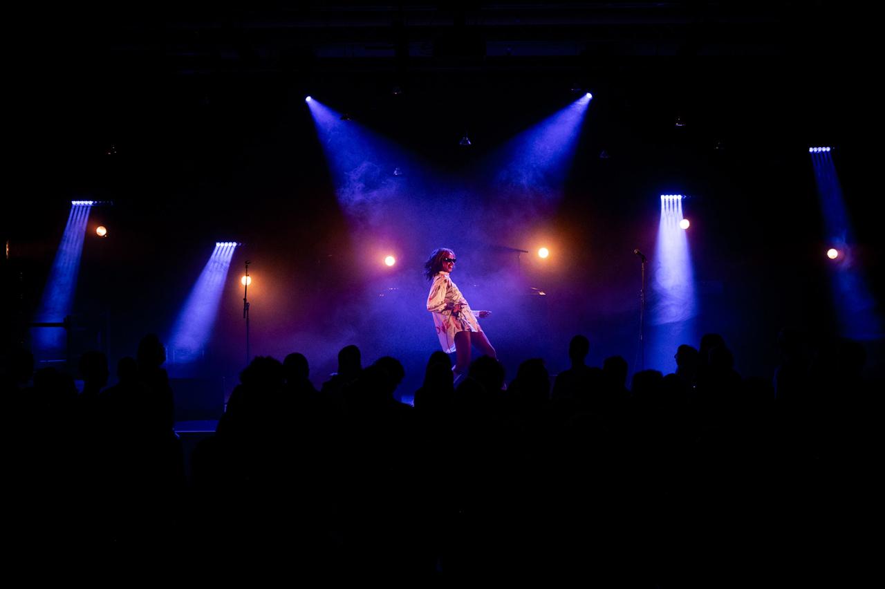 Nuha Ruby Ra live am Donvaufestival in Krems