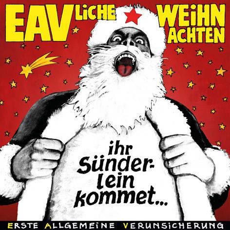 """Albumcover """"Ihr Sünderlein kommet"""" der EAV"""