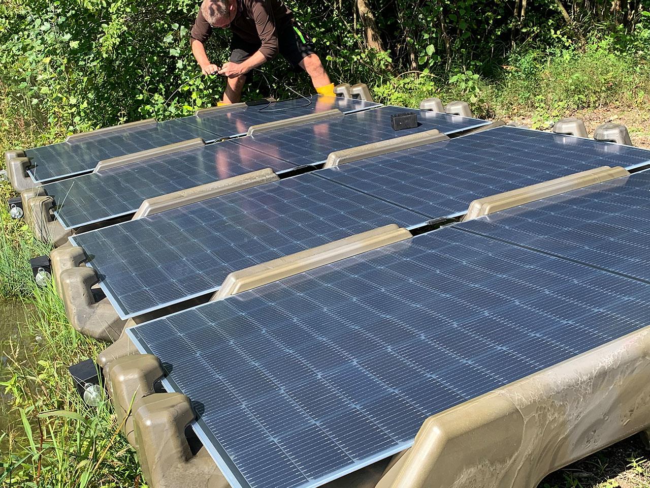 Solar Floater: Schwimmende Photovoltaikpaneele