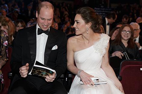 Kate und William beim BAFTA 2019