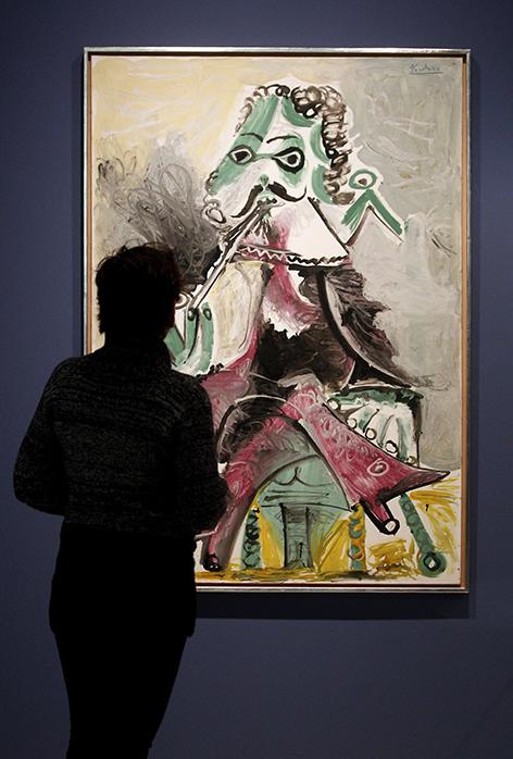 "Pablo Picassos Gemälde ""Musketier mit Pfeife"""