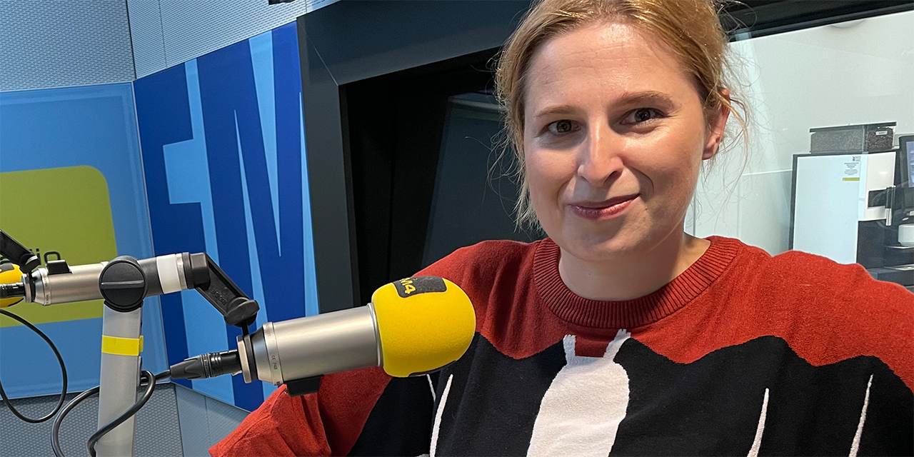 Natascha Strobl zu Gast bei FM4