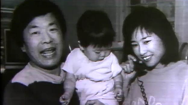 Susumu Tonegawa mit Familie