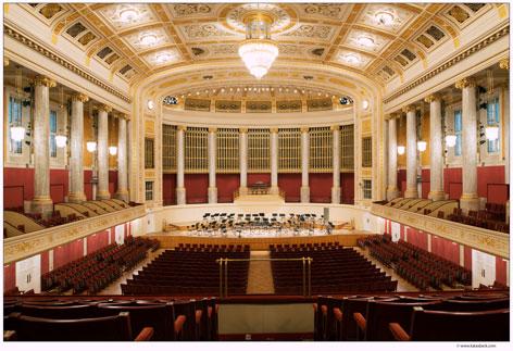 Großer Saal im Konzerthaus