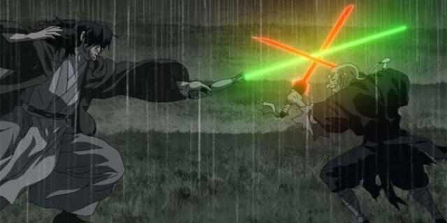 """Filmstills aus """"Star Wars: Visions"""""""