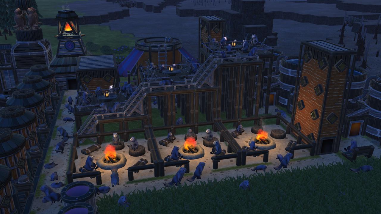 Screenshot des Spiels Timberborn