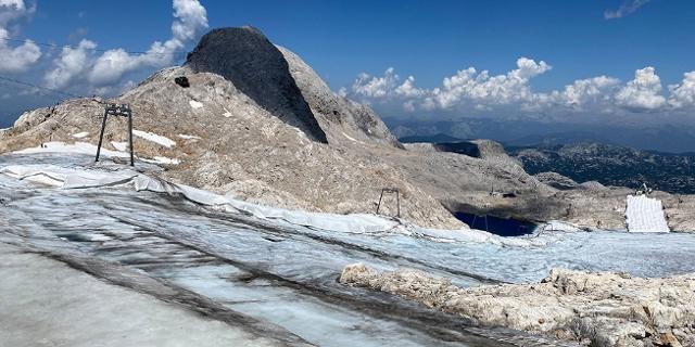 Schrumpfende Gletscher am Dachstein
