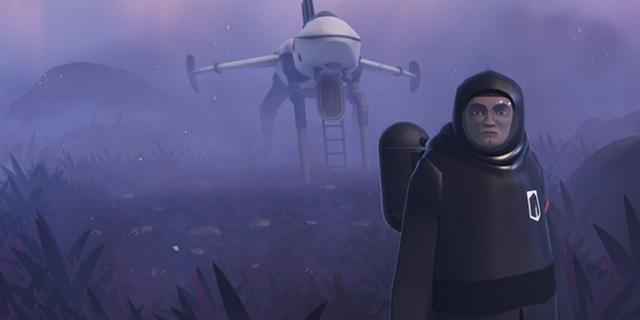 """Screenshot aus dem Computerspiel """"JETT: The Far Shore"""""""