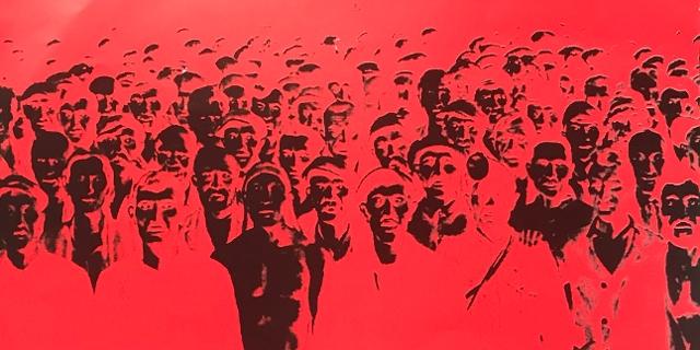 Cover der selbstironisch betitelten EP Propaganda der politischen Indie-Band Panenka, 1995