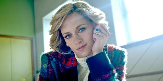 """Kristen Stewart als Lady Di in """"Spencer""""."""